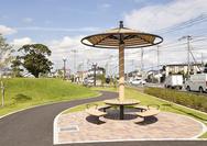 かがり火公園(松伏町)の写真