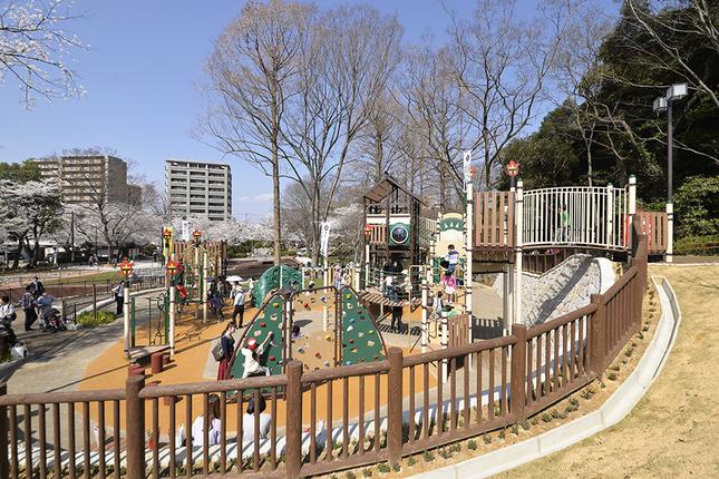 岐阜公園「ちびっこ天下広場」の写真