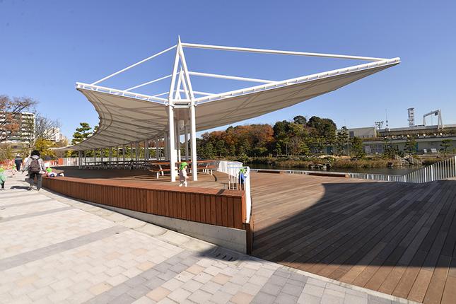しながわ区民公園 南側ゾーン(品川区)の写真
