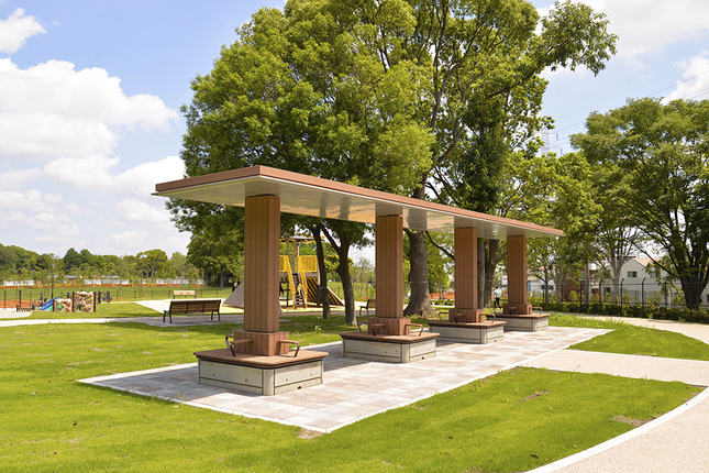 都立 舎人公園(足立区)の写真